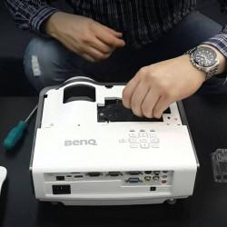 Обнуление счетчика при замене лампы в проекторе